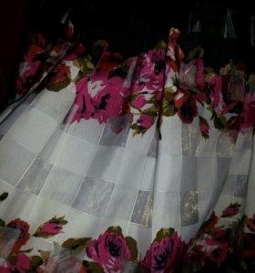 Нарядное платье для девочки)