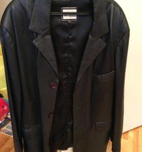 Куртка кожаная Италия