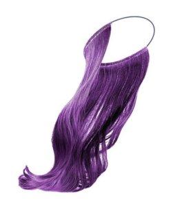 цветные пряди для волос на резинке