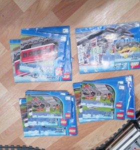 Лего поезда
