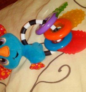 Погремушка игрушка Панда playgro