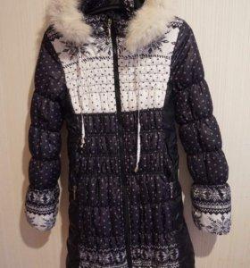 Женская зимняя куртка для будущих мам и не только