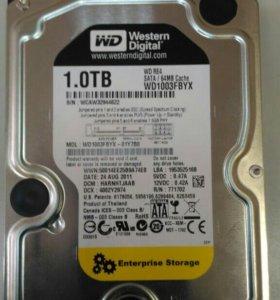 Жесткий диск SATA WD 1 ТБ
