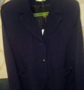 Новый синий Пиджак для школы