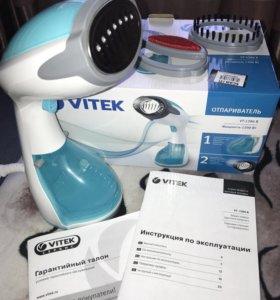 Отпариватель Vitek новый