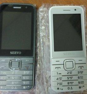 Телефоны Servo 9500 на 4 sim карты новые