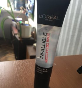 матирующая база под макияж l'oréal infallible
