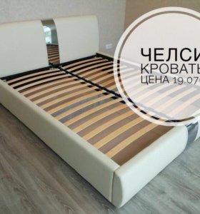 Челси кровать с подъёмным механизмом 1,6