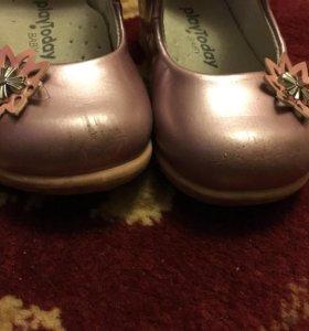 Туфли PlayToday для девочки 19 размера