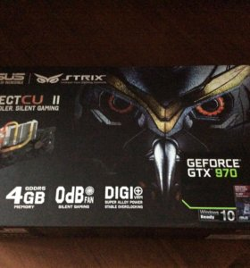 Asus nvidia geforce gtx 970 strix oc 4gb