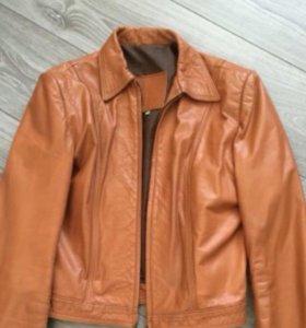 Куртка кожаная женская, 46-48