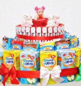 Тортики из вкусностей