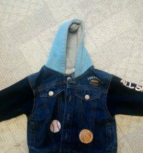 Джинсовка курточка детская