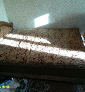 Двух спальнпя кровать!