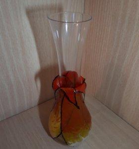 Ваза цветок хэндмейд