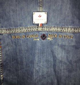 Куртка джинсы мужские новый