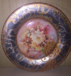 Декоративная тарелка 🌟handmade 🌟ручная работа