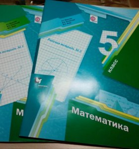 Рабочие тетради по математике 5 класс Мерзляк