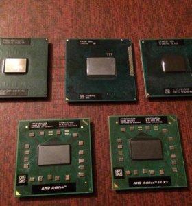 Процессоры Intel и Amd на ноутбук