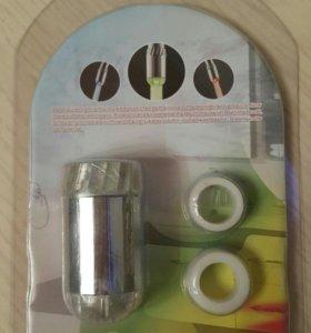 Насадка для крана LED