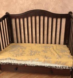 Детская кроватка Гандыльян (Моника) + матрас