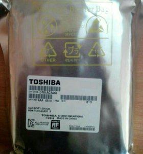 """Жесткий диск Toshiba DT01ACA050 500GB 3.5"""" новый"""