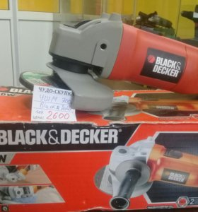 Ушм,болгарка (black&decker)