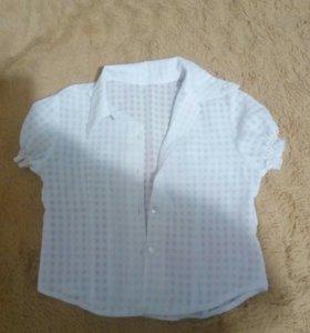 Блузки для девочки 6-7 лет