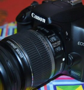 Фотоаппарат Canon 1000 D