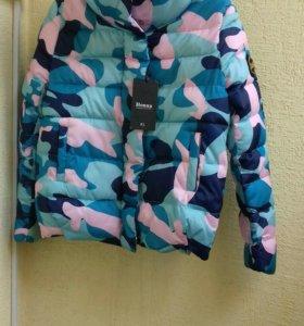 Новая куртка демисезон теплая