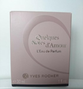 Yves Rocher Quelques Notes d'Amour 30 мл