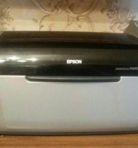 Принтер цветной.