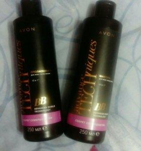 Набор:шампунь+бальзам для волос (avon)