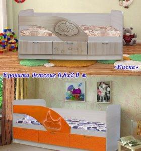 Кровать детская. Новая в упаковке.
