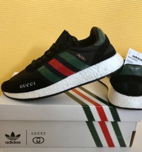 Казань 💥 Кроссовки Adidas Iniki Runner X Gucci 🔝