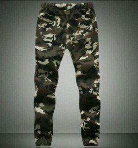 Новые камуфляжные штаны