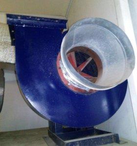 Вентиляция улитка с мотором б/у