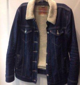 Джинсовая куртка левайс Levi's