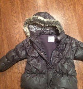 Курточка для девочки 100-104