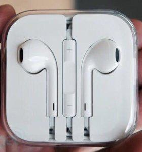 Ear pods наушники для IPhone