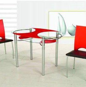 Продам стеклянный стол