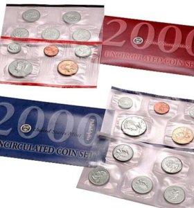 Комплект 2000 Монетный двор США в Денвере