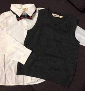Новый комплект H&M на мальчика р.116