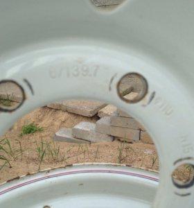 Колёсные диск тойота ленд круизер 80