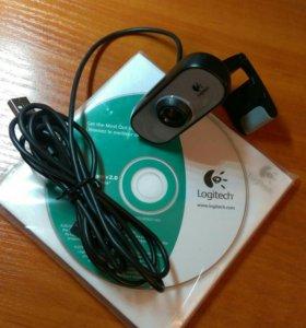 Веб-камера Logitech C100 640*480 usb 2.0
