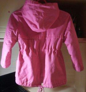 Курточка на девочку ростовка 110-116