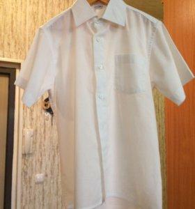 Рубашка белая 128-134