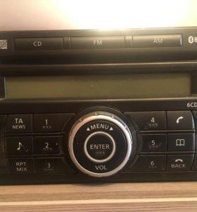 Продам штатную магнитолу на Nissan Xtrail