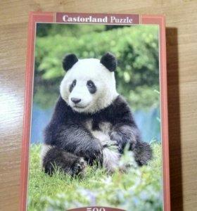 Пазлы панда. 500 пазлов.