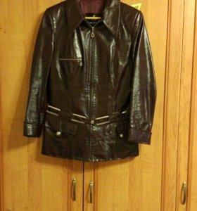Куртка кож. 46 р.